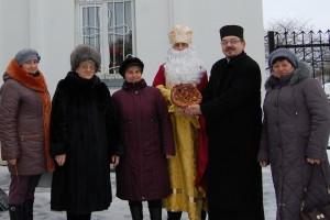 Солодкий пиріг Святому Миколаю від вдячних вихованців 13 садочка