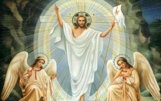 Пасхальне привітання настоятеля храму св. Покрови, протоієрея Михаїла Якубіва